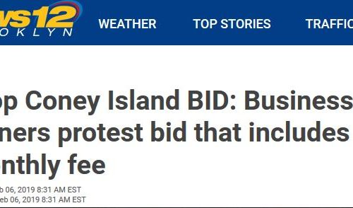 Stop the Coney Island BID